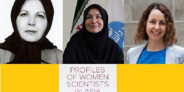 İranlı üç kadın Asya'da 50 kadın bilim insanları arasında
