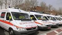İran Kızılayı, Filistin Kızılayı'na 10 ambulans hediye etti