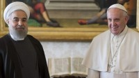 İran Cumhurbaşkanı Ruhani, Papa Francis ile görüştü