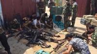 Foto:  İran'ın Irak halk güçlerine gönderdiği silahlar…