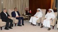 İran Cumhurbaşkanının mesajı Katar Emirine iletildi