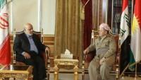 İran'ın Irak büyükelçisi Mesut Barzani'yle görüştü