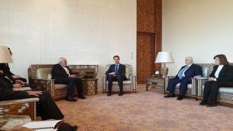 Cevad Zarif, Şam'da Beşar Esad ile görüştü
