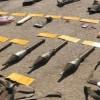 İran'ın doğusunda terörist gruplara ait büyük miktarda silah ve mühimmat ele geçirildi
