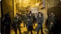 Siyonist İsrail Güçleri Beyta Beldesinin Girişlerini Beton Bloklarla Kapattı
