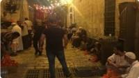 Siyonist İsrail Güçleri Mescid-i Aksa'ya Sahur Yiyeceklerinin Sokulmasına İzin Vermedi