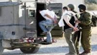 Siyonist İsrail Güçleri Batı Yaka ve Kudüs'te Altı Filistinliyi Gözaltına Aldı