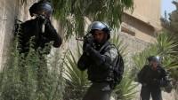 İşgal Askerleri El-İseviyye Mahallesi'nde Bomba Atışı Talimi Yapıyor