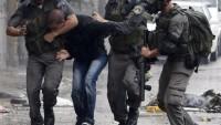 İşgal Güçleri Filistinli Bir Genci Yaraladı ve 10 Kişiyi Gözaltına Aldı