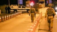 Siyonist İsrail güçlerine ateş açılması sonucu bir asker yaralandı