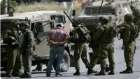 Siyonist İsrail Güçleri Batı Yaka'da 6 Filistinliyi Tutukladı