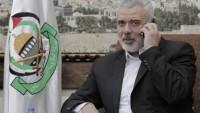 Hamas Lideri İsmail Heniye'den Hizbullah Lideri Seyyid Hasan Nasrullaha Özel Mesaj