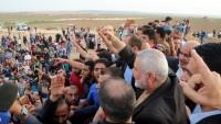 İsmail Heniyye'den Siyonist İşgalcilere: Nekbe'nin Yıldönümünde İnsan Tufanını Bekleyin