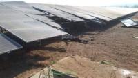 Gazze Direnişi Siyonist İsrail'in Şair Heniğif Kasabasındaki Güneş Enerjisi Santralini Vurdu