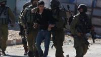 Siyonist İsrail 2017 yılında 1086 Filistinliyi göz altına aldı