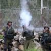 Siyonist İşgal Güçleri Batı Yaka'da Gösterilere Sert Bir Şekilde Müdahale Etti