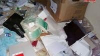 Suriye'de teröristlerden kalıntı bir hastanede İsrail ilaçları bulundu