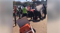 Direniş Güçleri İsrail Kasabalarını 30 Grad Füzesiyle Vurdu