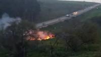 Suriye Ordusu İsrail Ordusuna Ait F-16 Savaş Uçağını Vurarak Düşürdü