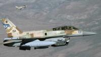 Siyonist İsrail, Suriye Ordusu Mevzilerine Hava Saldırısı Düzenledi