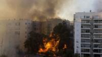 Siyonist İsrail'de On binlerce kişi evlerini terk etti