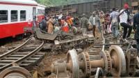 Kamerun'da tren raydan çıktı: 55 ölü, 600 yaralı