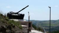 Azerbaycan ordusu, Ermenistan tankını vurdu