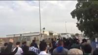 Video: Arabistan'ın Katif Kenti Halkı Ayetullah Nemr'in İdamını Protesto Etti