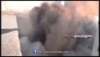 Video: Suriye Ordusu Teröristlerin Komuta Karargahını İmha Etti