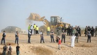 İşgal Yönetimi En-Nakab'taki El-Arakib Köyünü 113'üncü Kez Yıktı