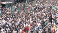 Dünya Müslümanları Mescidi Aksayı Savunma İntifadasında Filistin Halkını Yalnız Bırakmadı