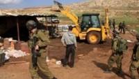 Siyonist Rejim, Kudüs'ün Doğusunda Filistinlilere Ait Beş Evi Yıktı