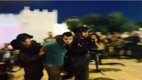 Siyonist İşgal Güçleri Kudüs'te Dün 12 Filistinliyi Gözaltına Aldı