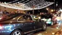 Kudüs'ün Şam kapısı bölgesinde siyonistlerin araçları taşlandı