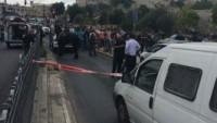 Kudüs Kentinde Filistinli Bir Gencin Bıçaklı Saldırısına Uğrayan Siyonist Asker Ağır Yaralandı