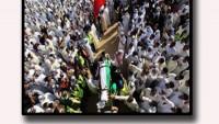 Tasarım: Kuveyt'te Cami Saldırısında Şehid Olan Müslümanlara Düzenlenen Cenaze Töreninde Hep Bir Ağızdan Vahdet Sesleri Yükseldi