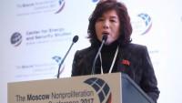 Choe Son-hui: ABD Başkan Yardımcısı Mike Pence'in açıklamaları aptalca ve cahilcedir