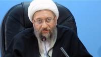 İran Yargı Erki Başkanı Amoli Laricani: Füze gücümüz için asla müzakere etmeyiz