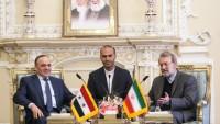 Laricani: İran'ın Suriye devleti ve halkına yardımı devam edecek