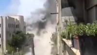 Video: Suriye uçakları Lazkiye'de teröristlerin mevzilerini hedef aldı