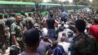 Lazkiye'de 2500 gönüllü genç orduya katıldı