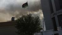 Libya'da Hafter'e bağlı güçlere ait savaş uçağı düştü!