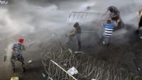 Beyrut'ta çöp protestosu