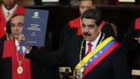 Venezuela Lideri Nicolas Maduro Devlet Başkanlığı İçin Yemin Etti