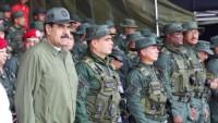 Maduro, silahlı kuvvetlerin dış komplolara karşı birliğini korumasını istedi