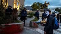 Makedonya'da 'İsrail rüşveti'nin gösterileri sürüyor