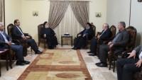İran Şehit Ve Gazi İşleri Kurumu Başkanı, Seyyid Nasrallah İle Görüştü