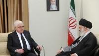 İmam Ali Hamaney, Irak Cumhurbaşkanı Masum'u kabul etti