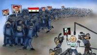 Karikatür: Siyonist medyanın gizlediği Suriye gerçekleri…