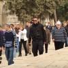 İşgal Polisi Yerleşimcilerin Mescid-i Aksa'ya Baskın Süresini Bir Saat Uzattı
